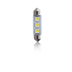 BEC SOFITE 3LED ALB 12V C5W T11*39MM