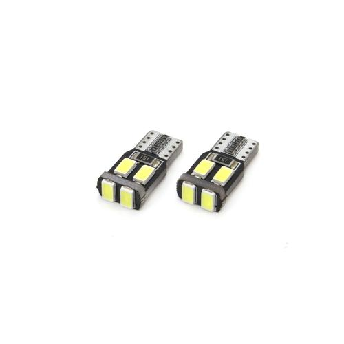 BEC LED CANBUS 6SMD-2 5730 T10 W5W ALB